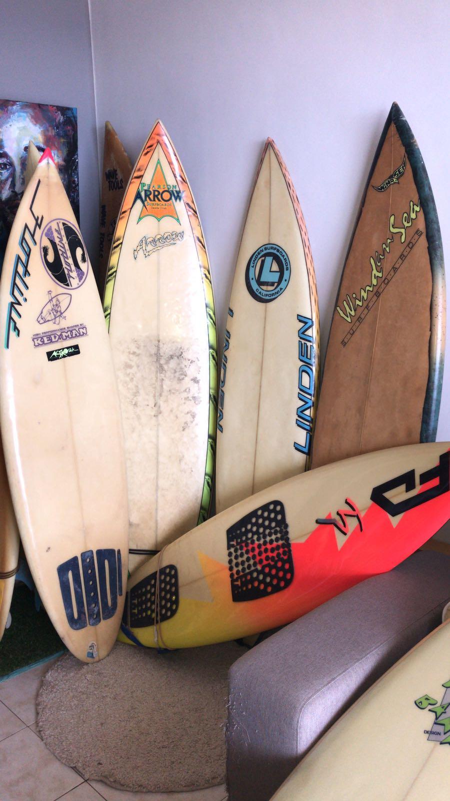 USA vintage surfboards