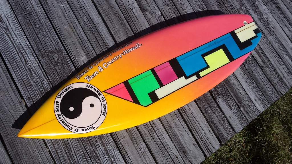 Town and Country Surfboard