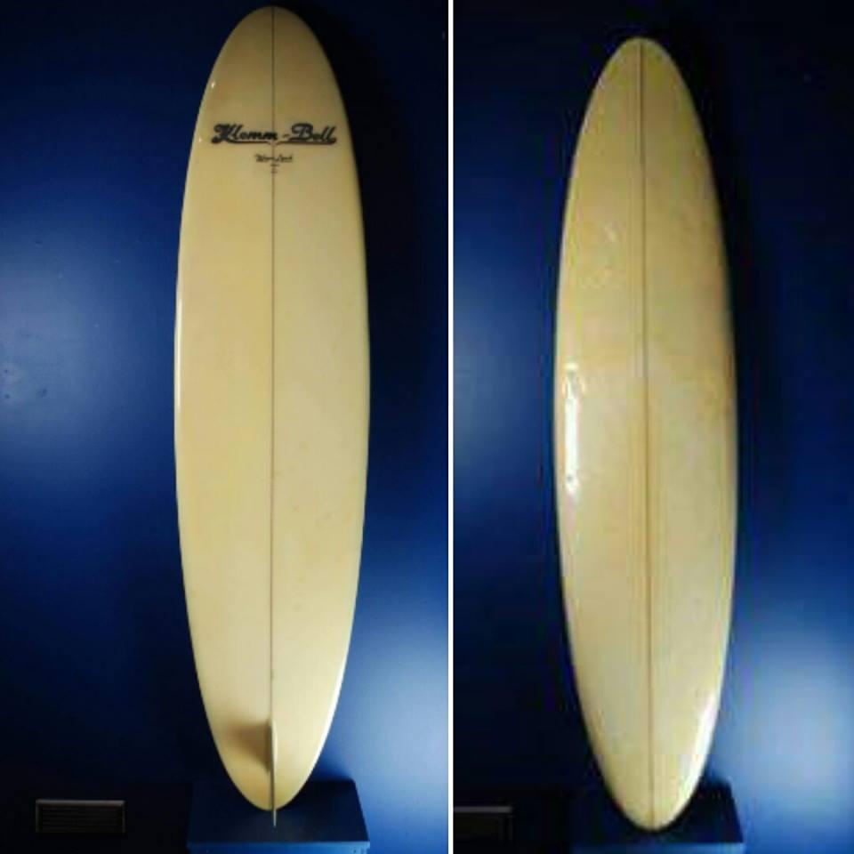 Klemm Bell shaped by Wayne Lynch 1971 ..S Deck shape from the sea of joy movie board 6'10 2