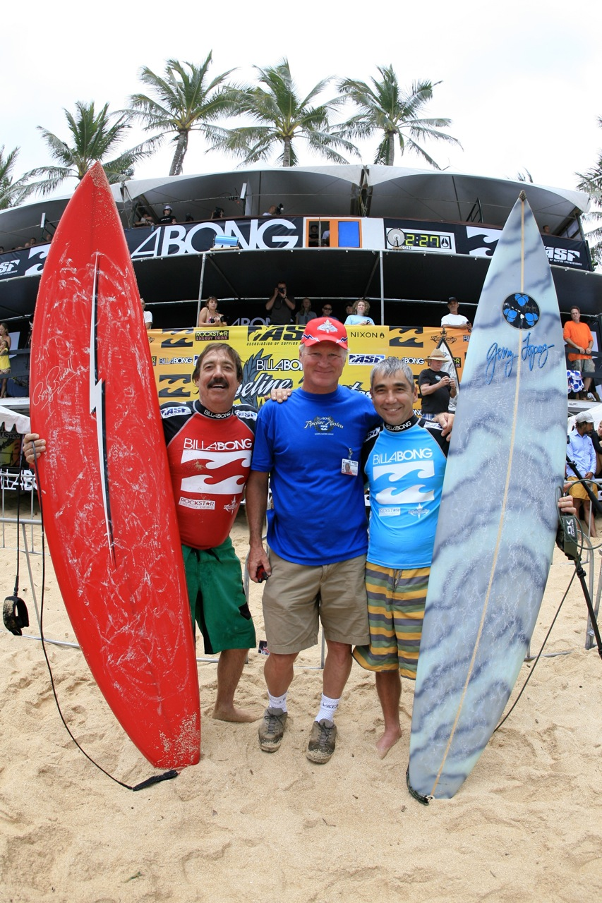 Roy-Russell-Randy-Rarick-Gerry-Lopez-at-Pipe-Masters-2008