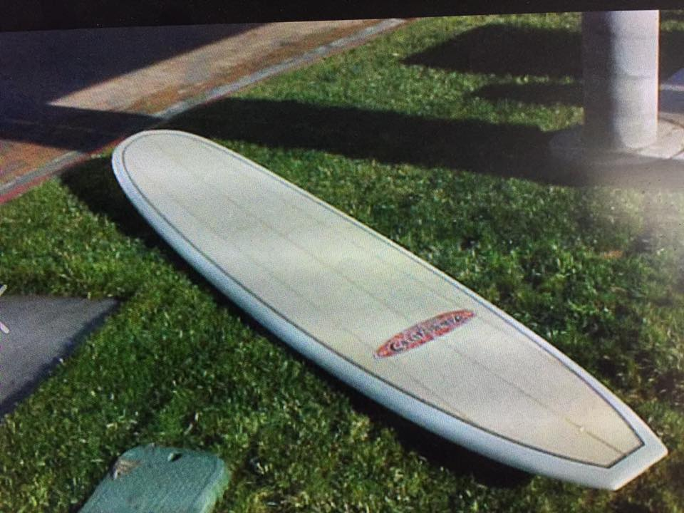 My late 60s early 70s Surfboard California NR  this board was the best rider ever