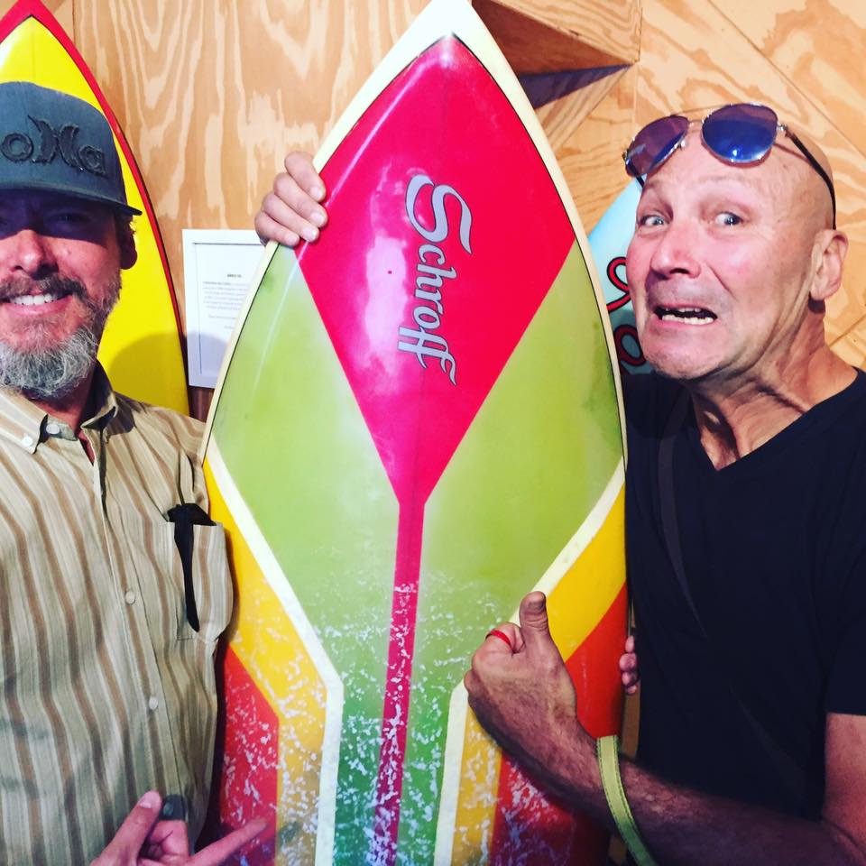 peter schroff and me surfboards and coffee board show he remembers shaping my 70s twin fin
