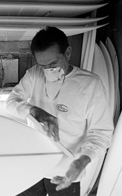 Tom Parrish shaping